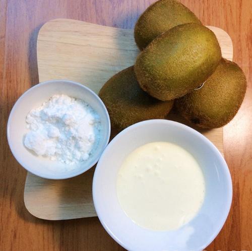 Tự làm kem kiwi đẹp mắt, ngon mát giải nhiệt