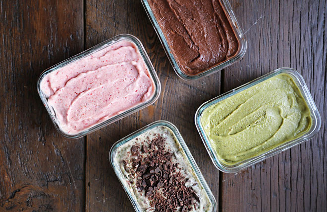 Tự làm kem chuối 4 vị dễ không tưởng chỉ với 1 nguyên liệu