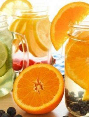 3 công thức nước uống giảm cân thanh lọc cơ thể