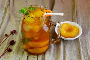 Cách làm nước đào thơm mát cho ngày hè nóng bức