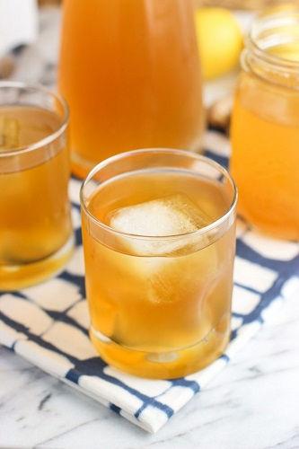 Bổ sung năng lượng với cách pha trà chanh mật ong gừng mát lạnh