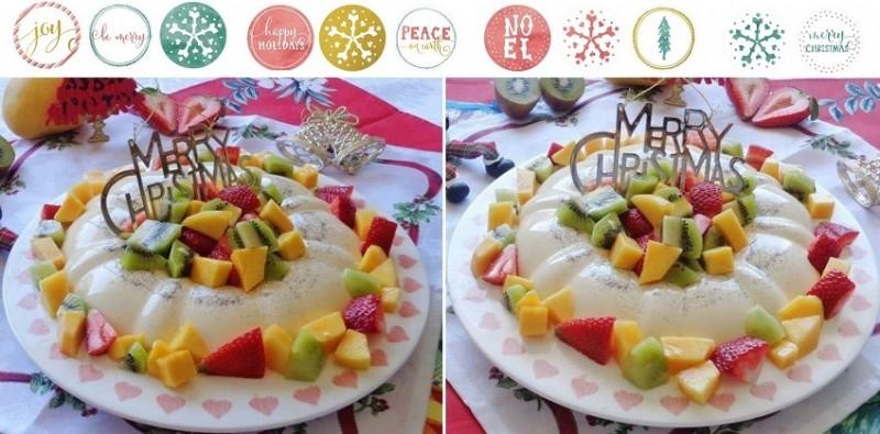 Học thêm món bánh Giáng sinh dạng kem mát ăn cực thích