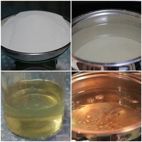 Cách làm chè bánh lọt nước cốt dừa đậm đà hương vị quê