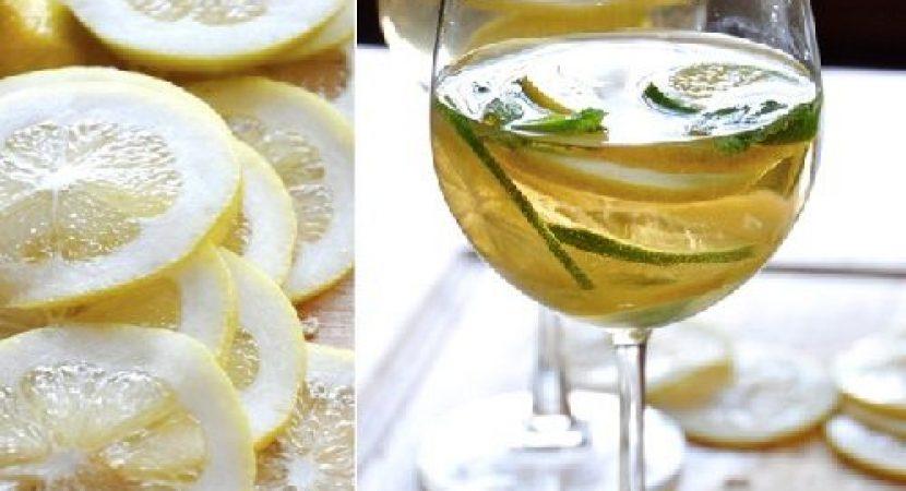 Cocktail Sangria chanh bạc hà đơn giản đậm đà hương vị Tây Ban Nha