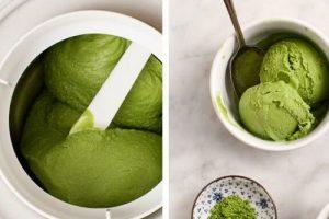 Cách làm kem matcha dừa béo ngậy thơm mát cực đơn giản
