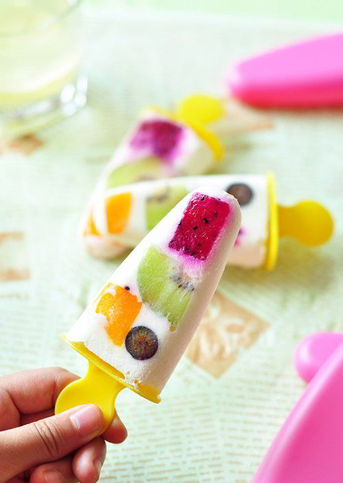 Cách làm kem que hoa quả thỏa cơn khát ngày nóng