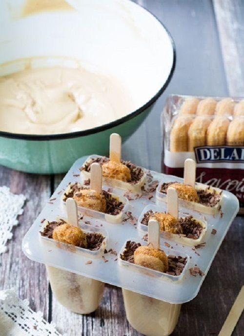 Lạ mắt lạ miệng với cách làm kem que tiramisu ngon đến khó cưỡng
