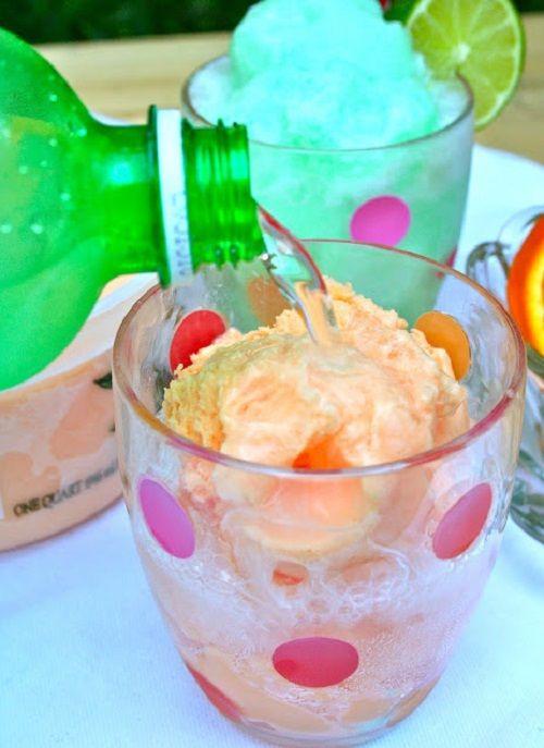 Cách làm kem sorbet cam chanh mát lạnh thưởng thức ngày hè