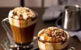 Cách làm mocha dừa sấy bùi bùi nóng ấm ngày đông lạnh