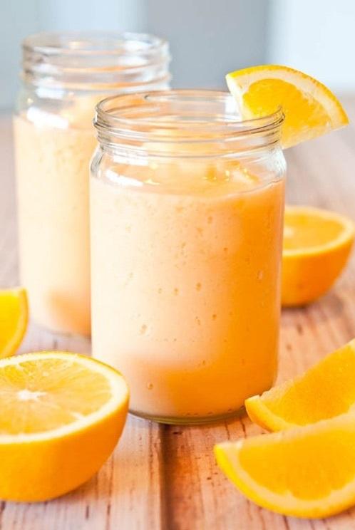 Sinh tố cam sữa chua đẹp da giữ dáng đầy dinh dưỡng