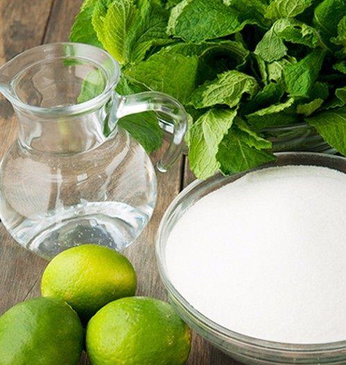 Cách làm siro chanh bạc hà tươi mát tốt cho sức khỏe