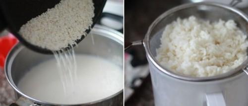 Đẹp dáng, sáng da với cách làm sữa gạo Hàn Quốc