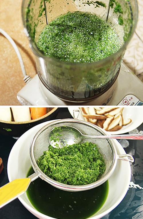 Cách làm thạch củ năng lá dứa pha trà sữa ngon tuyệt