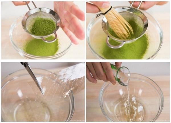 Cách làm thạch pudding trà xanh thanh mát cho ngày hè