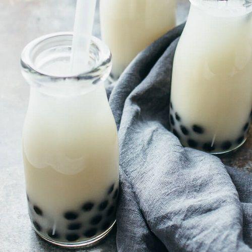 Cách làm trà sữa dừa cực ngon cực lạ không thể cưỡng lại