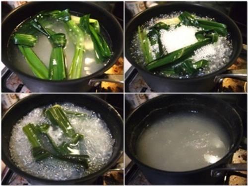 Mát lạnh với món chè bột báng ngon, hạ nhiệt cơn nóng