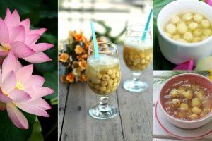 4 cách nấu chè hạt sen ngọt ngon, bổ dưỡng cho cả nhà