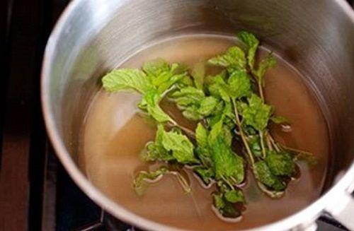 Công thức pha chế trà chanh bạc hà vị the mát cho mùa hè