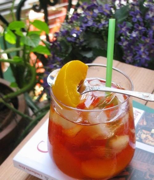 Hướng dẫn cách pha trà đào ngon tuyệt nhâm nhi ngày Tết