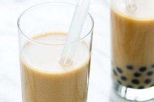 Cách pha trà sữa hạnh nhân chanh leo cực ngon cực độc đáo
