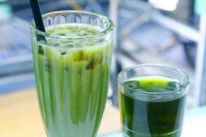 Sẵn sàng một mùa hè năng lượng với trà sữa thái xanh thơm mát bạn nhé