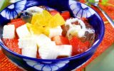 Cách làm chè khúc bạch hoa quả siêu hấp dẫn