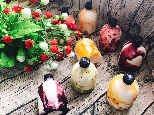 Mê mẩn với công thức sữa chua uống sốt trái cây đẹp da đẹp dáng