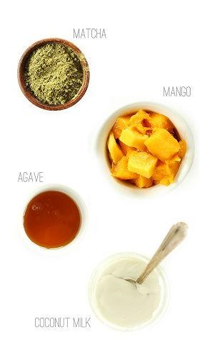 Ngất ngây với cách làm kem xoài trà xanh thử là nghiện