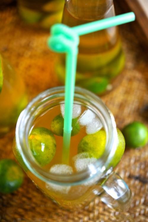 Ngày giao mùa học 2 cách pha trà quất mật ong phòng ho
