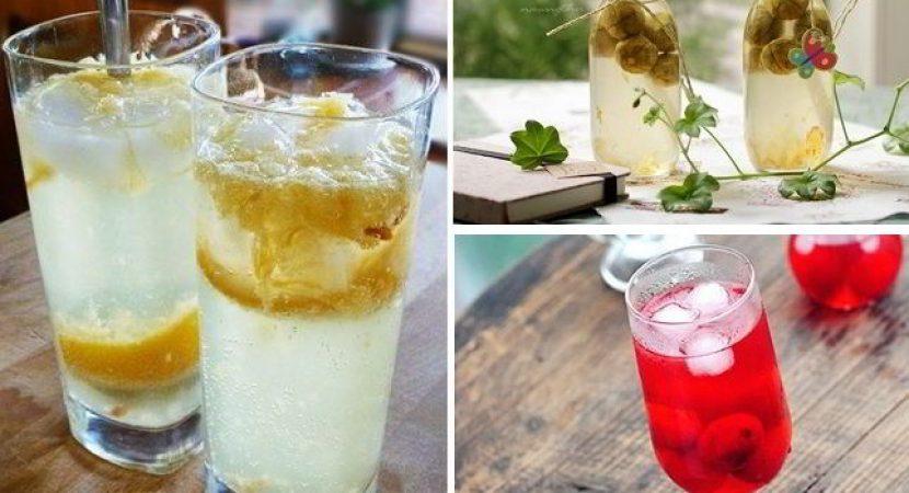 Những cách làm nước trái cây ngâm giải nhiệt mùa hè