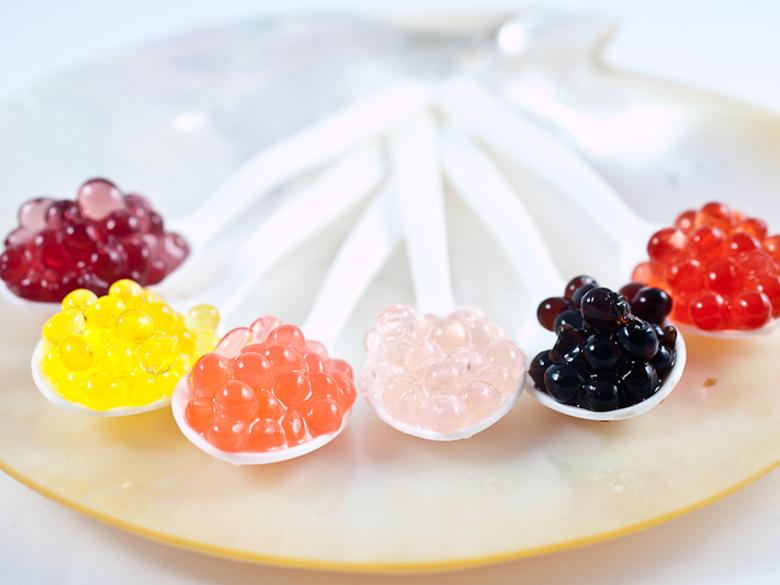 Tự học cách làm trân châu đủ sắc màu từ rau củ quả